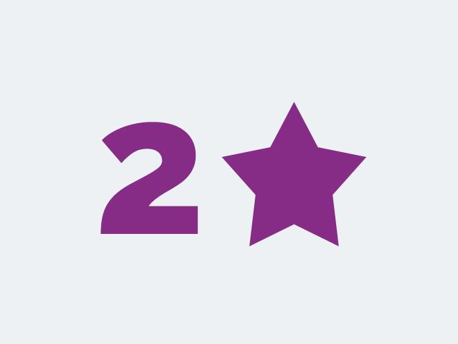 Locations 2 étoiles