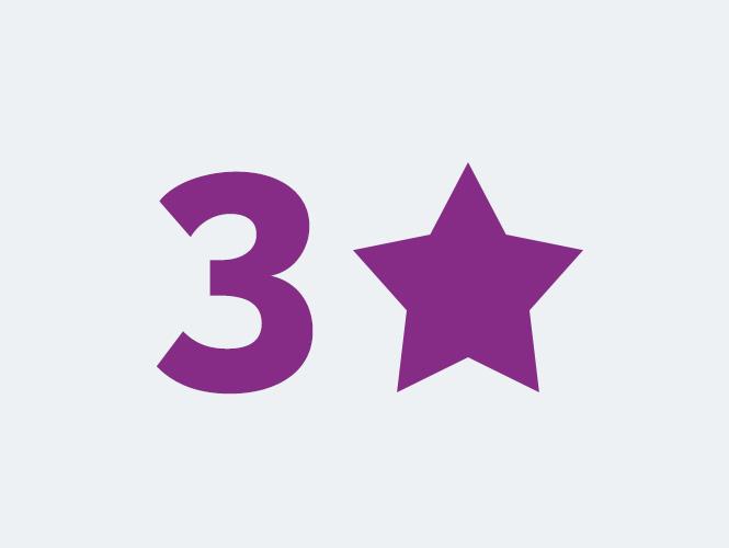 Locations 3 étoiles