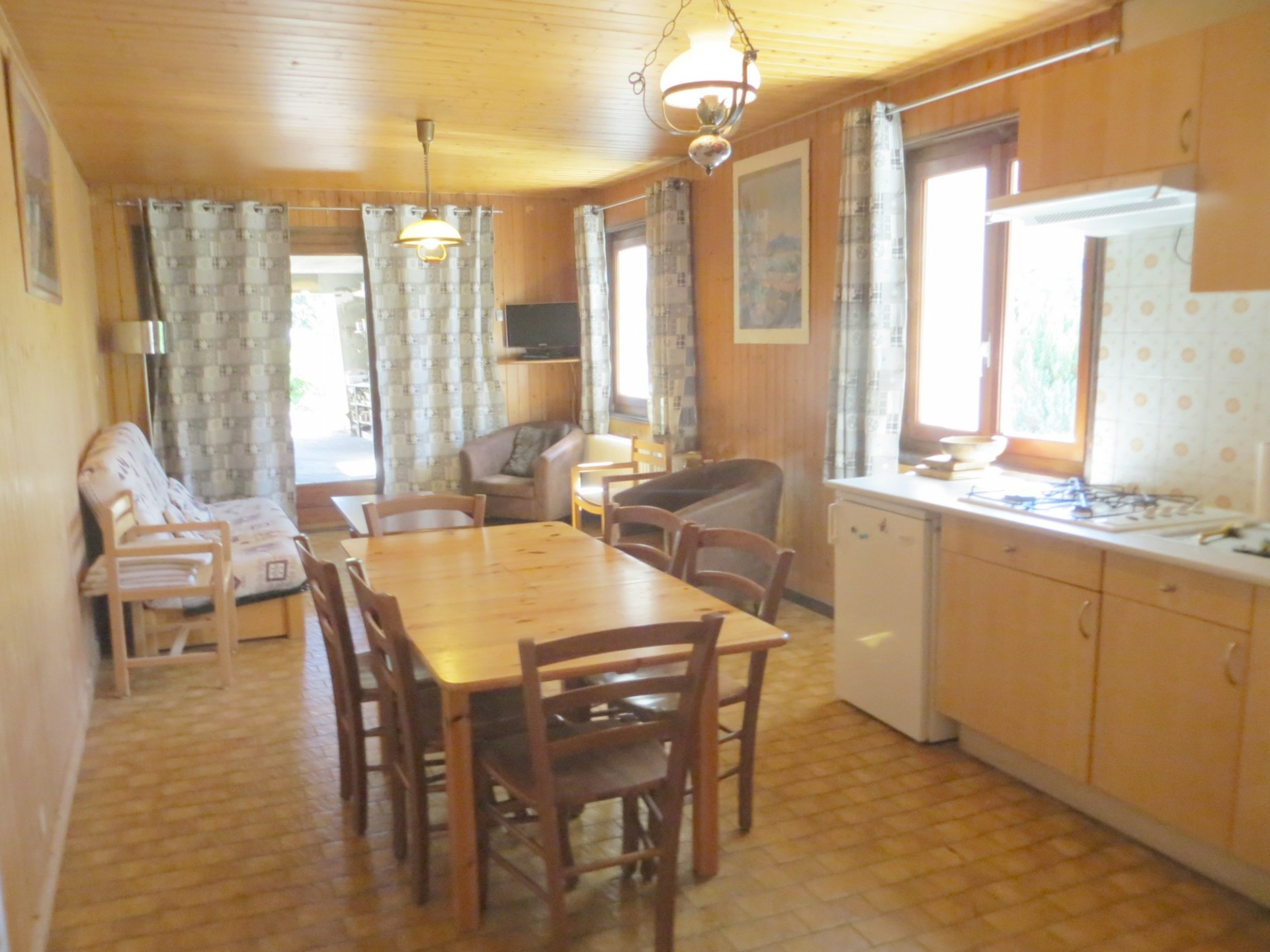 Rent Apartment Les Gets Ancolie Apartment in chalet 6 persons 3
