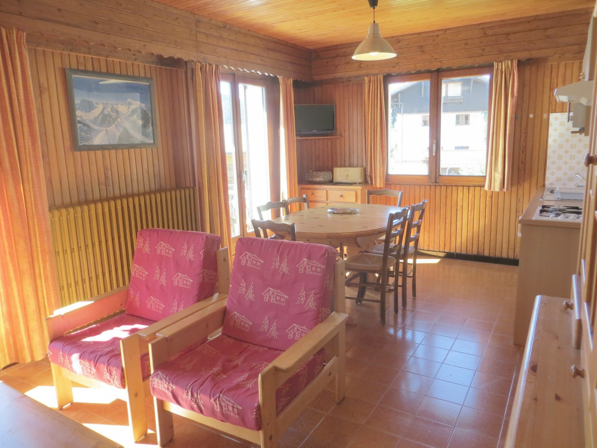 location-appartement 5 personnes-chalet le corzolet-les gets