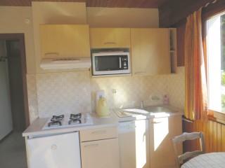 Les Gets, cuisine-appartement campanule, 4 personnes, le corzolet